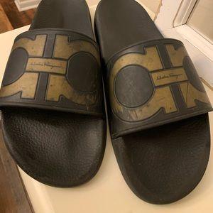 Men's Salvatore Ferragamo Slides Size 13